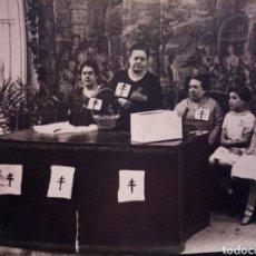 Fotografía antigua: ANTIGUA FOTO FERIA DE LA FLOR DE LAS CIGARRERAS DE CADIZ. Lote 131654079