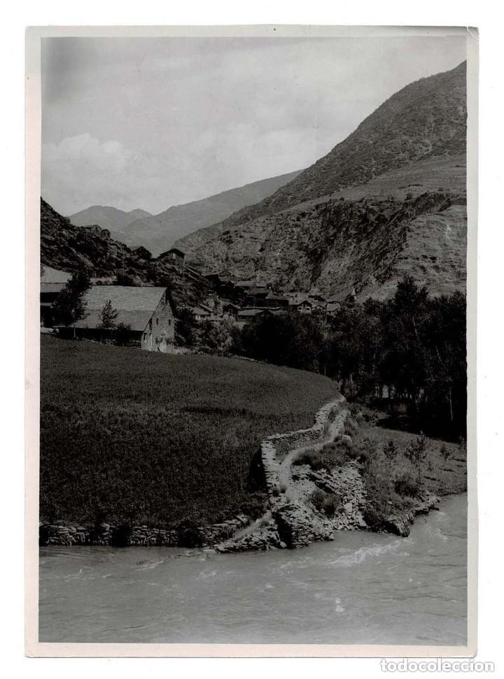 LLEIDA.CUENCA DEL NOGUERA PALLARESA.- FOTOGRAFÍA DEL MARQUÉS DE SANTA MARÍA DEL VILLAR. (Fotografía Antigua - Fotomecánica)