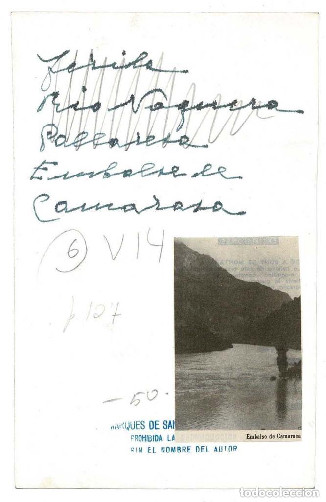 Fotografía antigua: Embalse de Camarasa en Río Noguera Pallaresa..-Fotografía Marqués Santa María del Villar. - Foto 2 - 131699486
