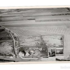 Fotografía antigua: AVIACIÓN. MAGAZ DE PISUERGA (PALENCIA) VISTA AÉREA. FOTO TOMADA POR LA AVIACIÓN MILITAR EN 1932. . Lote 131729106