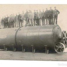 Old photograph - Zaragoza. Turbina fabricada por La Maquinista y Fundiciones del Ebro ( Antes Bressel y Pellegero) - 131787866