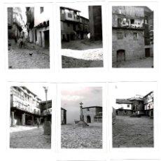 Fotografía antigua: 9 FOTOGRAFIAS DE LA ALBERCA. SALAMANCA.- 1968 .- MEDIDAS 7,5 X 10,5 CM. Lote 131870490