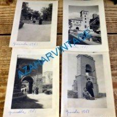 Old photograph - GRANADA, 1961, LOTE 4 FOTOGRAFIAS, 75X105MM - 131903258