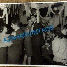 Fotografía antigua: VALENCIA, ANTIGUA FOTOGRAFIA DE UN GUATEQUE, 175X115MM. Lote 131974442