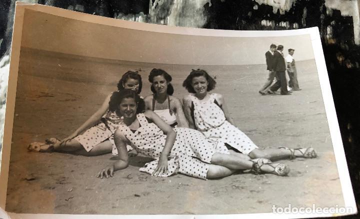 Estado En Con La ÉpocaEspañaAños Fotografía 30Buen Playa Antigua De Bañadores OriginalChicas 8vw0Nmn