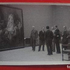 Fotografía antigua: FOTOGRAFIA INAUGURACION EXPOSICION NACIONAL BELLAS ARTES RETIRO 1941 CIFRA MADRID. Lote 132055638