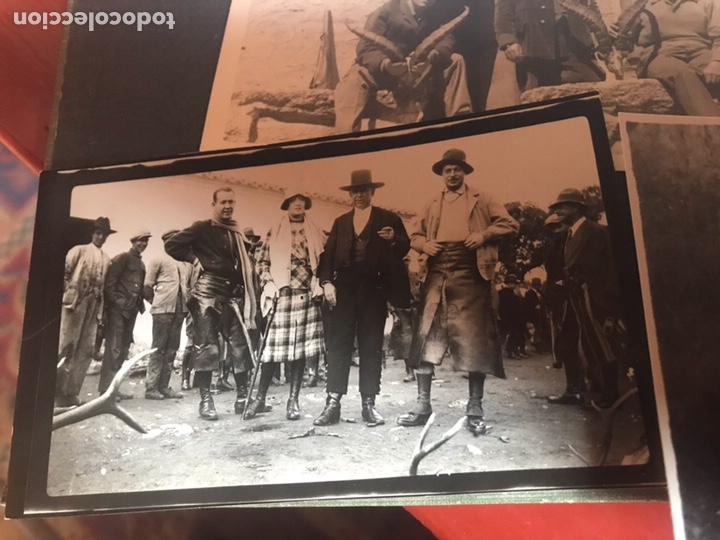 Fotografía antigua: Álbum con fotografías antiguas caza campo Caballos toros agricultura - Foto 3 - 132366993