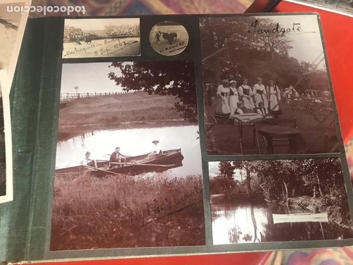 Fotografía antigua: Álbum con fotografías antiguas caza campo Caballos toros agricultura - Foto 4 - 132366993
