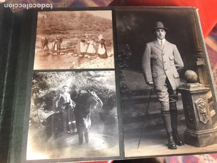Fotografía antigua: Álbum con fotografías antiguas caza campo Caballos toros agricultura - Foto 10 - 132366993