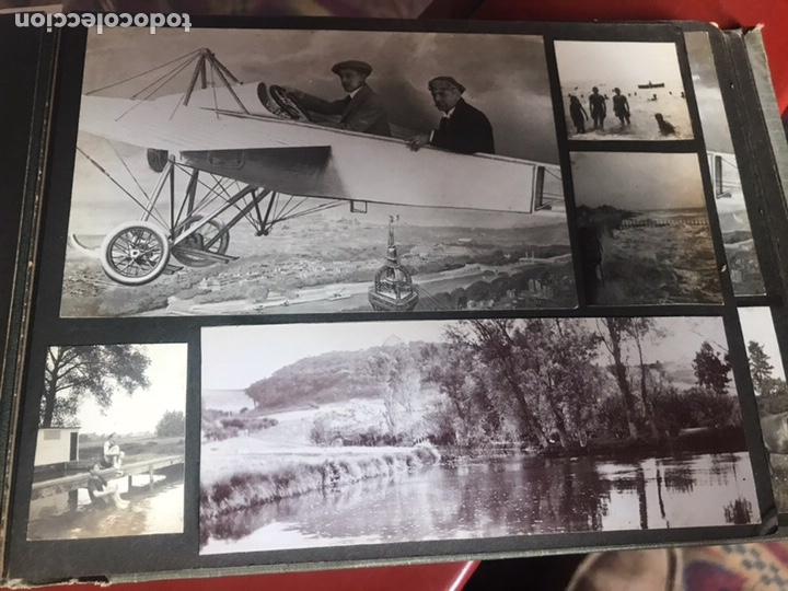 Fotografía antigua: Álbum con fotografías antiguas caza campo Caballos toros agricultura - Foto 16 - 132366993