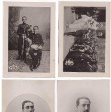 Fotografía antigua: 4 FOTOGRAFÍAS ORIGINALES DE LA VIDA DE FRANCO - 16X11CM. Lote 132458506