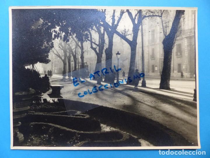 VALENCIA - FOTO PREMIADA EN EL III CONCURSO NACIONAL DE FOTOGRAFIA ARTISTICA - AÑO 1949 (Fotografía Antigua - Fotomecánica)