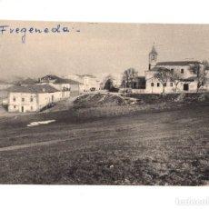 Fotografía antigua: LA FREGENEDA. ( SALAMANCA).-VISTA PARCIAL. 10,5 X 7,5 CM. Lote 132524222