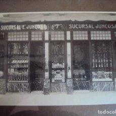 Fotografía antigua: (FOT-180900)FOTOGRAFIA SUCURSAL Nº7 EVARISTO JUNCOSA - FIGUERAS ???. Lote 132881866