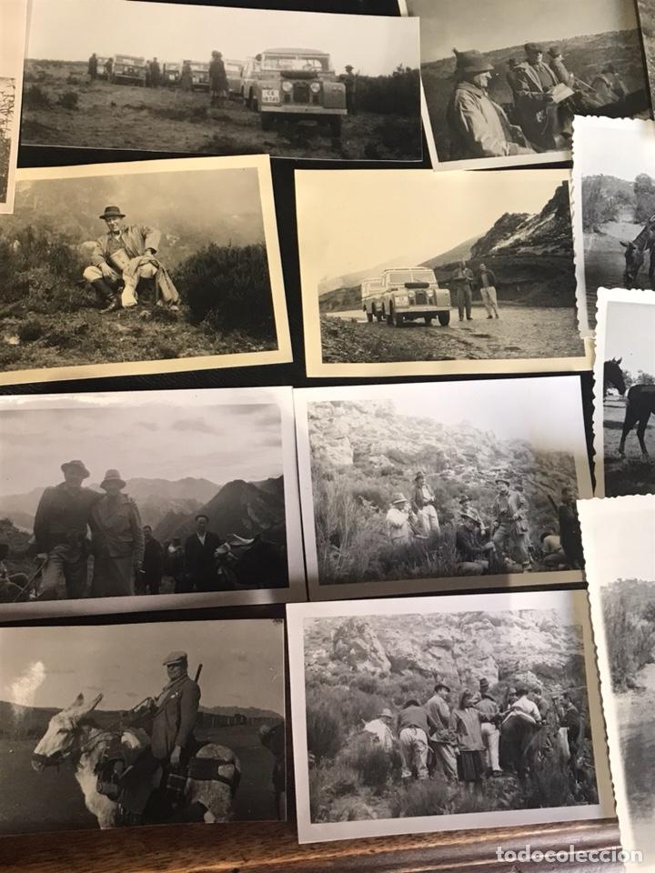 Fotografía antigua: Lote de fotografías con escenas de caza monteria - Foto 3 - 132986079