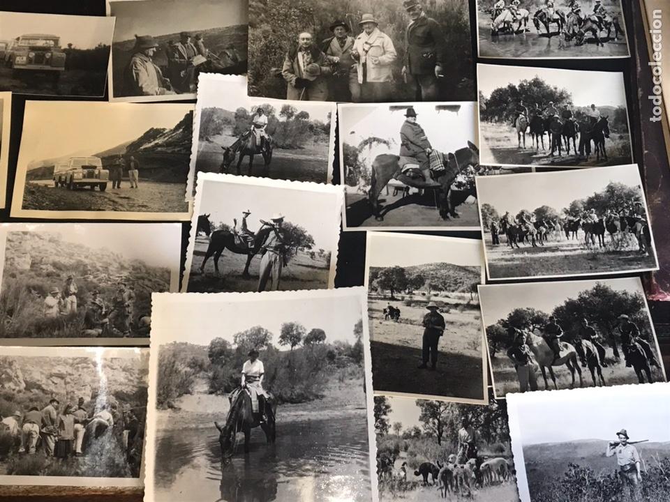 Fotografía antigua: Lote de fotografías con escenas de caza monteria - Foto 5 - 132986079