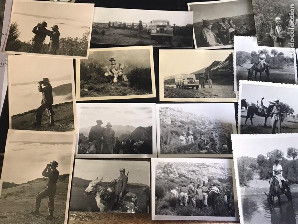 Fotografía antigua: Lote de fotografías con escenas de caza monteria - Foto 6 - 132986079