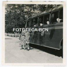 Fotografía antigua: FOTO ORIGINAL AUTOCAR COMPAÑIA MELIÁ AÑO 1958. Lote 133286018