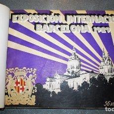 Fotografía antigua: EXPOSICIÓN INTERNACIONAL DE BARCELONA 1929. . Lote 133655650