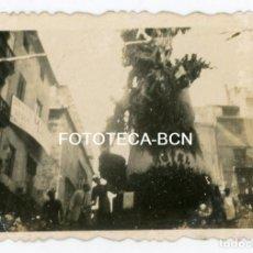 Fotografía antigua: FOTO ORIGINAL POSIBLEMENTE UNA FALLA VALENCIA AÑOS 40/50. Lote 133945974