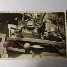 Fotografía antigua: ANTIGUA FOTOGRAFÍA. FALLA. FALLAS DE VALENCIA. FOTO AÑOS 40... Lote 134126010