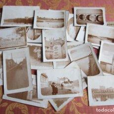 Fotografía antigua: 20 ANTIGUAS FOTOGRAFIAS DE PUEBLOS DE FRANCIA. ORIGINALES. Lote 134205966