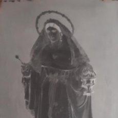 Fotografía antigua: ANTIGUO CLICHÉ DE SANTA MARTA SEVILLA NEGATIVO EN CRISTAL. Lote 134243282