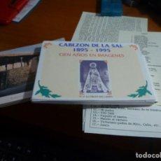 Fotografía antigua: CABEZON DE LA SAL 1895 - 1995 CIEN AÑOS EN IMAGENES, REPRODUCCIONES FOTOGRAFICAS, LEER. Lote 134245366