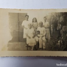 Fotografía antigua: FOTO FAMILIAR, PHOTO DE FAMILLE, FAMILY PICTURE . Lote 134247322