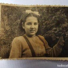 Fotografía antigua: GIRL NIÑA FILLE 1943. Lote 134247422