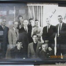 Fotografía antigua: FOTOGRAFÍA DE LOS ASTRONAUTAS EVANS, CARR, BRAND, ANDERS, CONRAD. ANTONIO ORDOÑEZ TORERO. ROSALES.. Lote 134265550