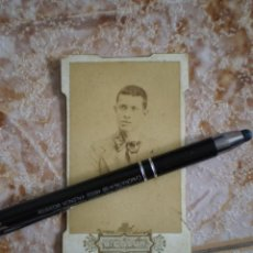 Fotografía antigua: FOTO P/S XX. SE TRATA DE ANTONIO MARCO POSANDO. GERMAN COLON, CASTELLON.. Lote 134270562