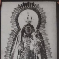Fotografía antigua: ANTIGUO CLICHÉ DE NUESTRA SEÑORA DE LA CONSOLACIÓN UTRERA SEVILLA NEGATIVO EN CRISTAL. Lote 134341086