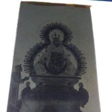 Fotografía antigua: ANDUJAR JAEN NTRA SRA DE LA CABEZA ANTIGUO CLICHÉ NEGATIVO EN VIDRIO. Lote 134343970