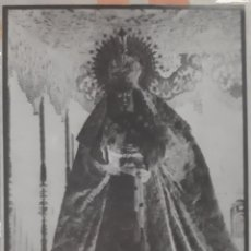 Fotografía antigua: ANTIGUO CLICHÉ DE LA ESPERANZA MACARENA SEVILLA NEGATIVO EN CRISTAL. Lote 134445758