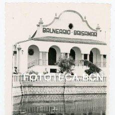 Fotografía antigua: FOTO ORIGINAL BALNEARIO BRISAMAR SANT VICENÇ DE CALDERS EL VENDRELL AÑO 1952. Lote 134486678