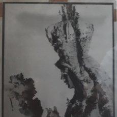 Fotografía antigua: ANTIGUO CLICHÉ DE LA ESPERANZA MACARENA SEVILLA NEGATIVO EN CRISTAL. Lote 134672210