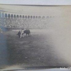 Fotografía antigua: FOTO DE CORRIDA DE TOROS . PRINCIPIOS DE SIGLO.. Lote 134803106