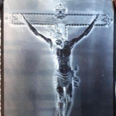 Fotografía antigua: ANTIGUO CLICHÉ DEL SANTÍSIMO CRISTO DE SAN GIL ECIJA SEVILLA NEGATIVO EN CRISTAL. Lote 134872994
