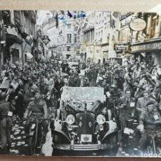 Fotografía antigua: FOTO ANTIGUA ORIGINAL INEDITA MARISCAL MONTGAMERY COPENHAGUE DINAMARCA 120 MM X 86 MM. . Lote 134923082