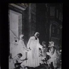 Fotografía antigua: MADRID DOS ANTIGUOS CLICHÉS DE SAN JUAN BAUTISTA DE LA SALLE NEGATIVOS EN CRISTAL. Lote 135041362