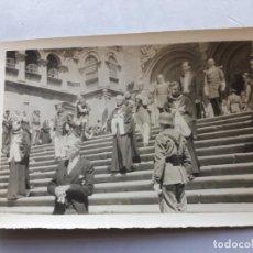 Fotografía antigua: FOTOGRAFÍA ANTIGUA DE SANTIAGO DE COMPOSTELA. PROCESIÓN.. Lote 135103946