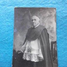 Fotografía antigua: FOTOGRAFÍA ANTIGUA DE RELIGIOSO. Lote 135124382