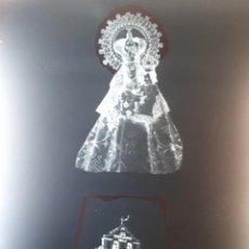 Fotografía antigua: ANTIGUO CLICHÉ DE NUESTRA SEÑORA DE LAS VIÑAS TOMELLOSO CIUDAD REAL NEGATIVO EN CRISTAL. Lote 135171554