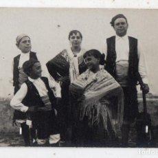 Fotografía antigua: FOTOGRAFÍA ANTIGUA DE FOTO FERRER, LA CORUÑA. TIPOS REGIONALES.. Lote 135196746