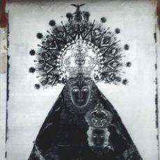 Fotografía antigua: ANTIGUO CLICHE DE NUESTRA SEÑORA DE LA FUENSANTA VILLANUEVA DEL ARZOBISPO JAEN NEGATIVO EN CRISTAL. Lote 135274594