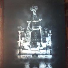 Fotografía antigua: ANTIGUO CLICHE DE NUESTRA SEÑORA DEL PORTAL PATRONA DEL RIVERO SORIA NEGATIVO EN CRISTAL. Lote 135275370
