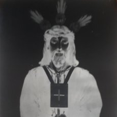 Fotografía antigua: ANTIGUO CLICHE DE NUESTRO PADRE JESÚS CAUTIVO SANLUCAR DE BARRAMEDA CADIZ NEGATIVO EN CRISTAL. Lote 135275762