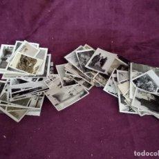 Fotografía antigua: LOTE DE UNAS 93 ANTIGUAS FOTOGRAFÍAS PEQUEÑAS, B/N, VARIAS TEMÁTICAS Y AÑOS. Lote 135353822