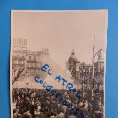 Fotografía antigua: VALENCIA - FALLAS MASCLETÁ - AÑOS 1940-1950. Lote 135433286